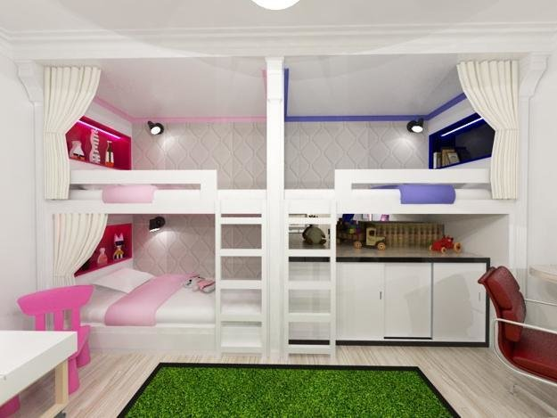 Best 30 And Three Children Bedroom Design Ideas With Pictures