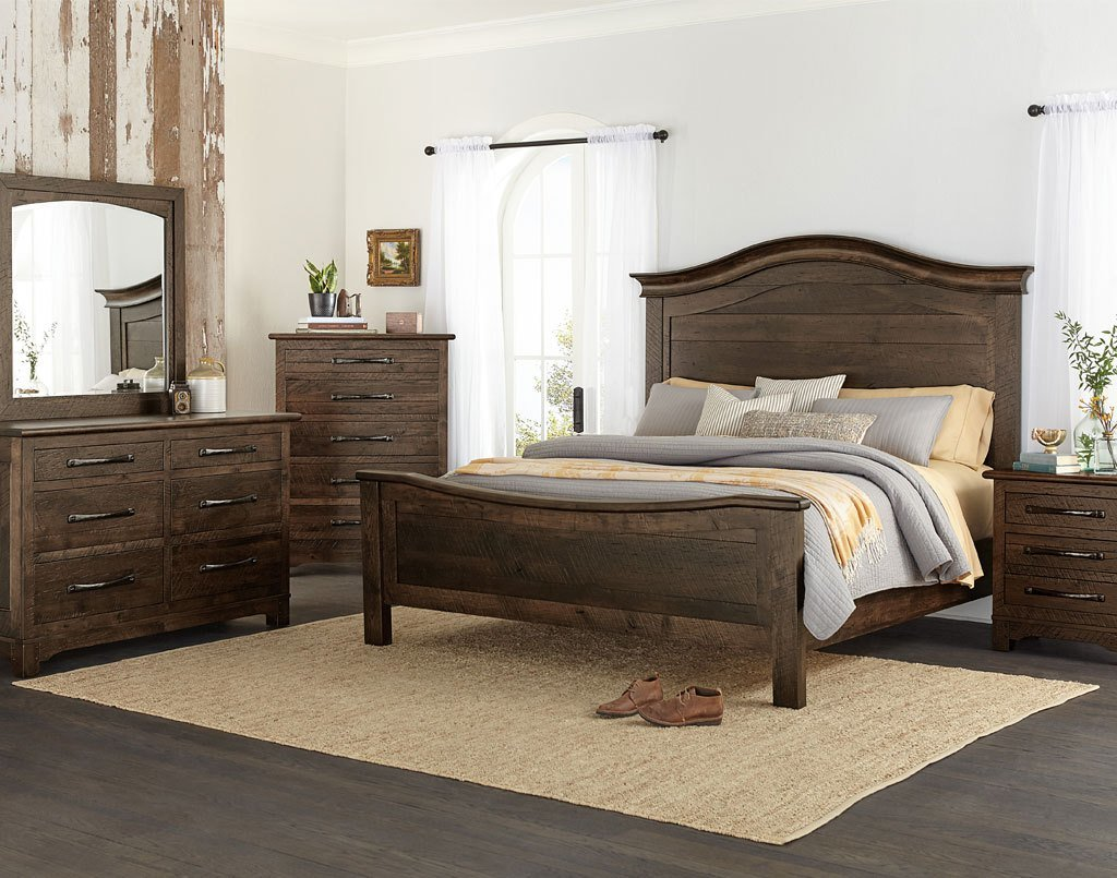 Best Farmhouse Amish Bedroom Set Amish Direct Furniture With Pictures