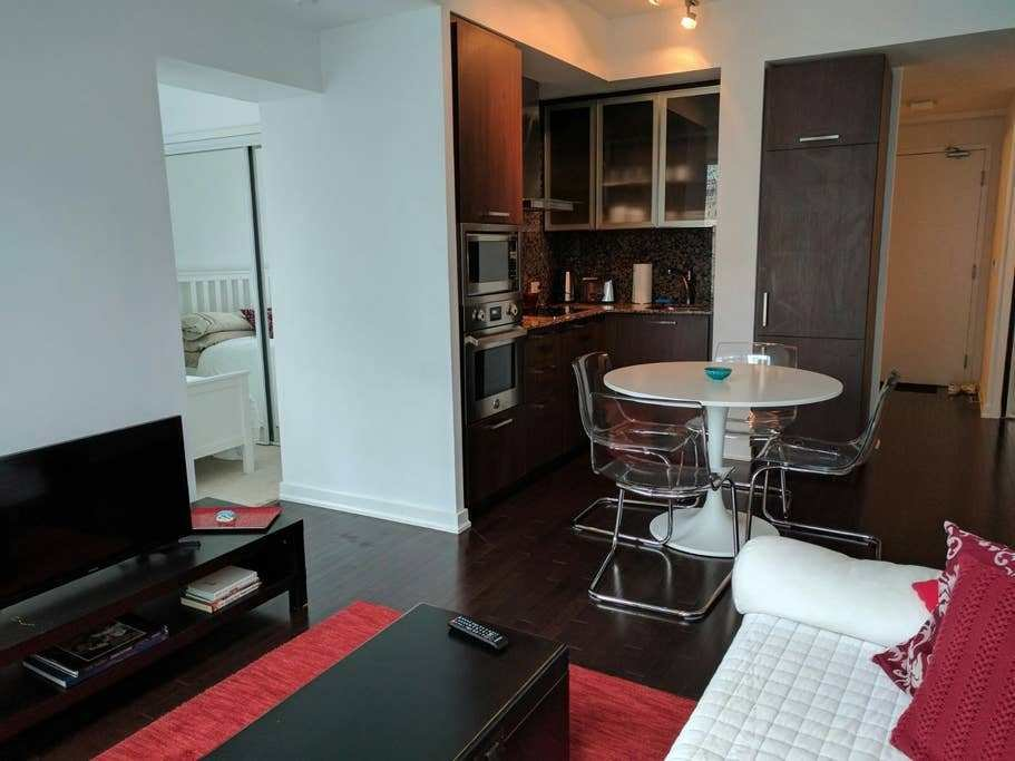 Best Downtown Toronto Luxury Condo One Bedroom Lounge Apartments For Rent In Toronto Ontario Canada With Pictures