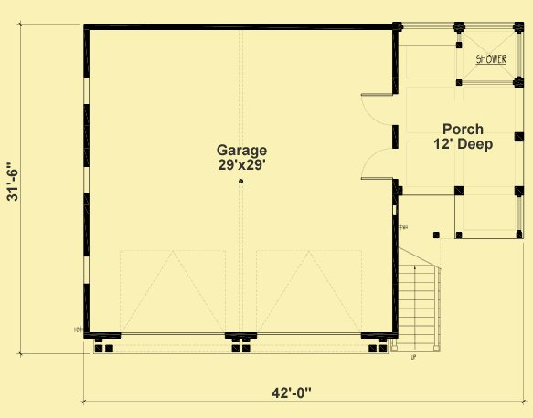 Best Plans For A Two Bedroom Apartment Above A Two Car Garage With Pictures