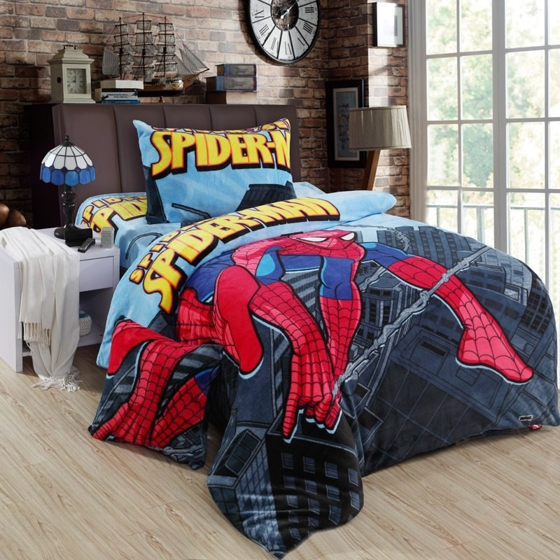 Best Popular Spiderman Bedding Queen Size Buy Cheap Spiderman With Pictures