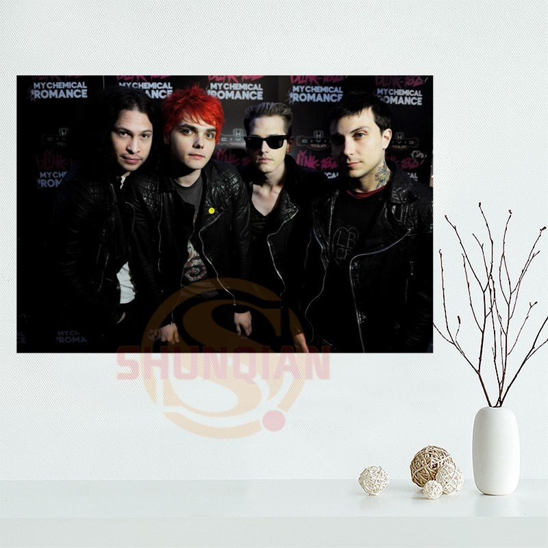 Best Shunqian My Chemical Romance Poster Custom Home Decor With Pictures