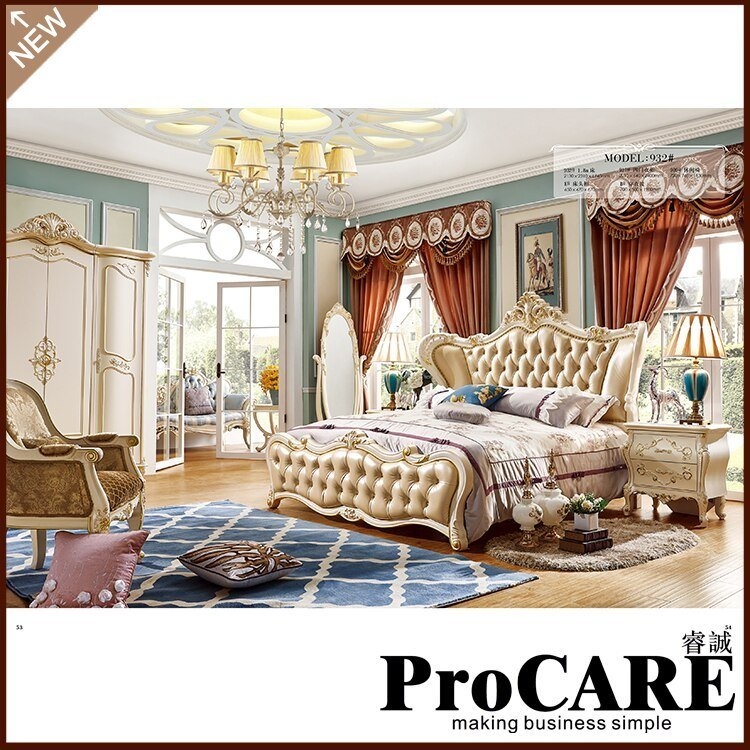 Best Russia Style Model Girl Bedroom Furniture Set Foshan City With Pictures