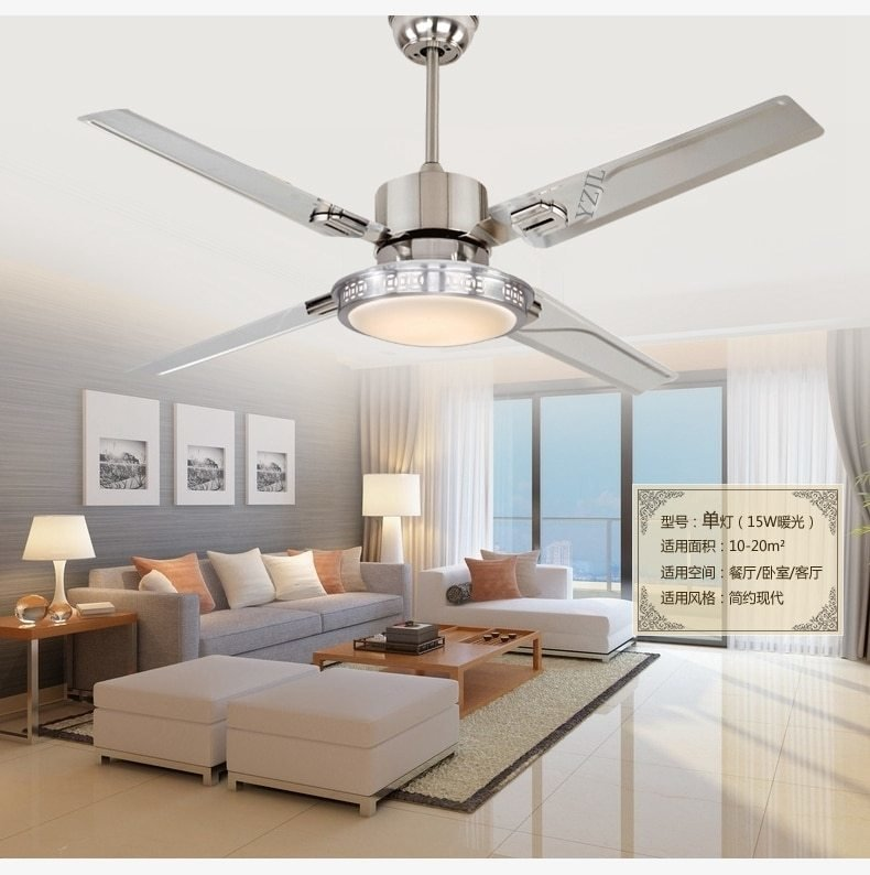 Best 48Inch Remote Control Ceiling Fan Lights Led Bedroom With Pictures