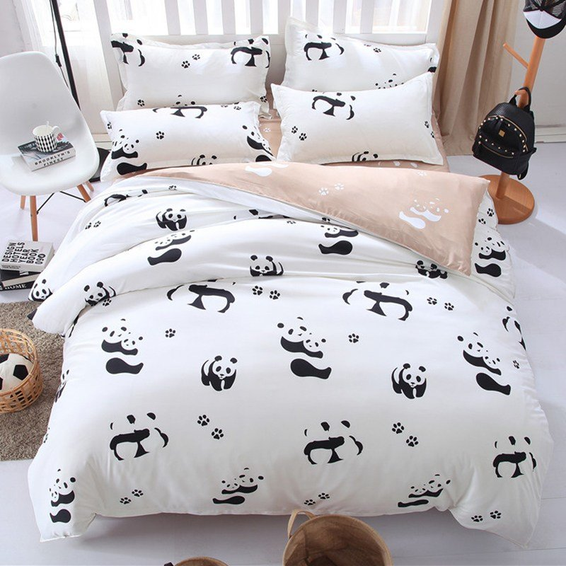 Best Black And White Panda Bedding Set – Panda Seeker With Pictures