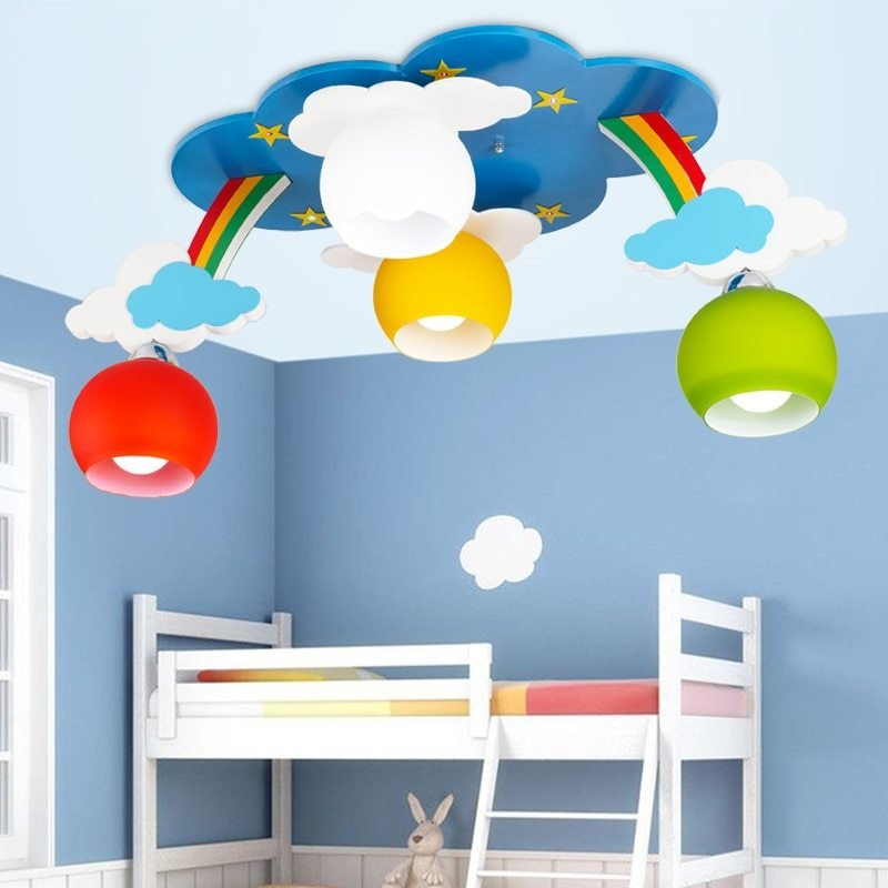 Best Kids Bedroom Cartoon Surface Mounted Ceiling Lights Modern With Pictures