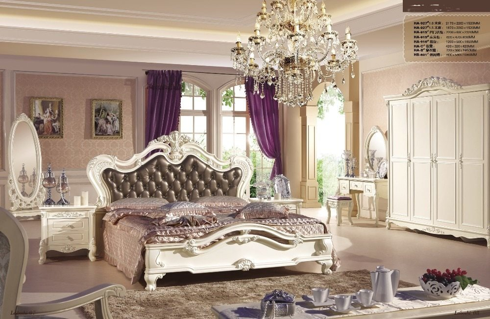 Best High Quality Oak Solid Wood And Durable Bedroom Furniture With Pictures