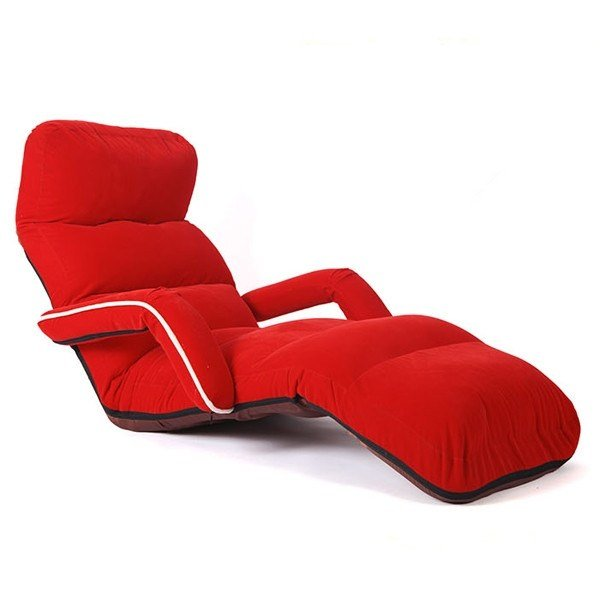 Best Chaise Lounge Chairs For Bedroom Adjustable Foldable Soft Suede Recliner Chair 6 Colors Sofas With Pictures