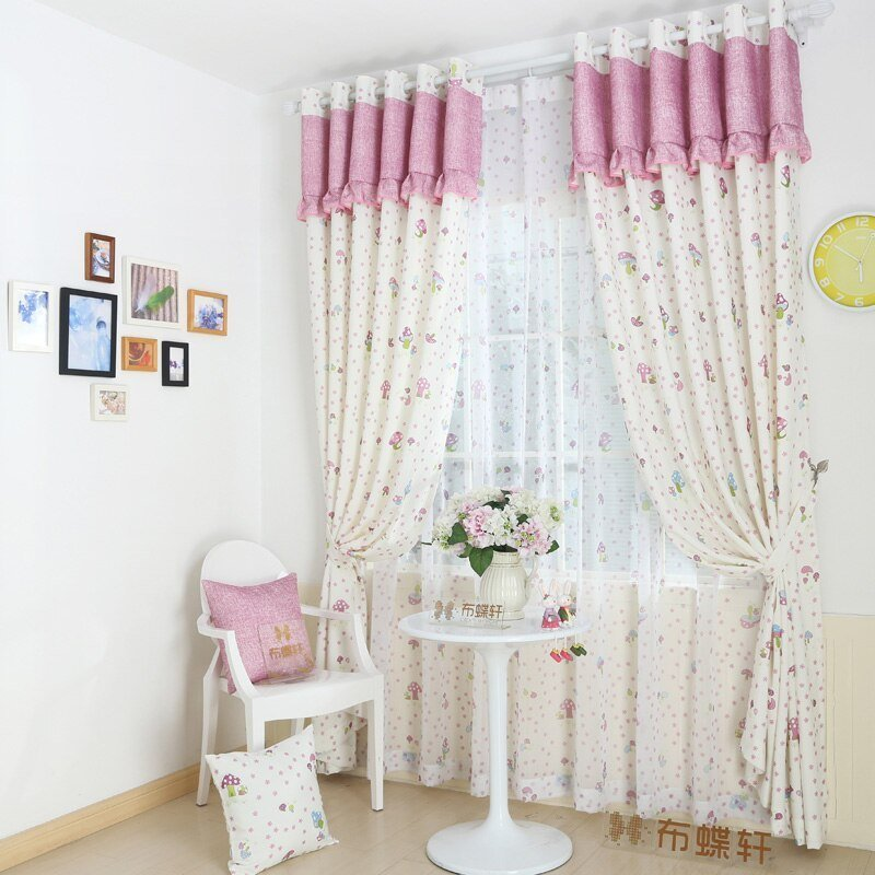 Best ⑧ Blackout Curtains For ⊰ Bedroom Bedroom Children Blind Fabric Girls ୧ʕ ʔ୨ Door Door Window With Pictures