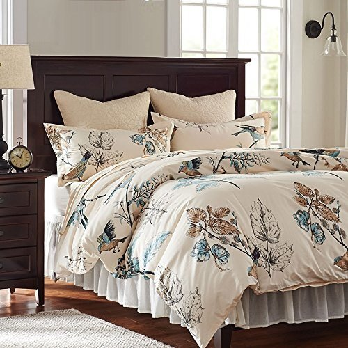 Best Aliexpress Com Buy American Country Style Bird Bedding Set Romantic Duvet Cover Queen Full With Pictures