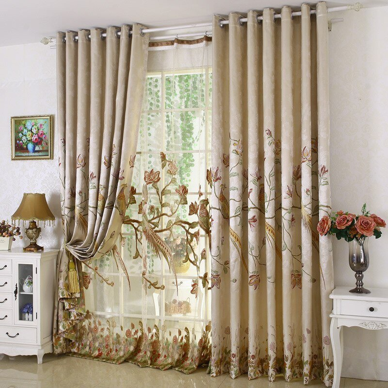 Best Aliexpress Com Buy High Grade Luxury Window Curtain Set With Pictures