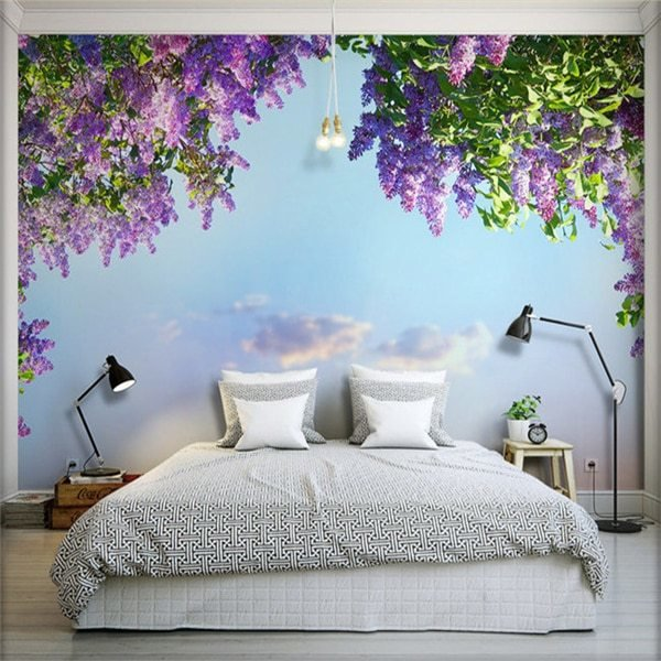 Best Aliexpress Com Buy 3D Large Seamless Living Room Wall With Pictures