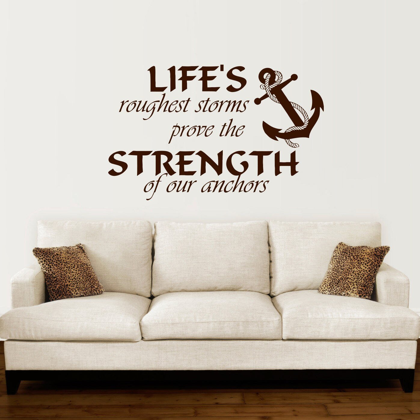 Best Anchor Wall Decal Quotes Nautical Sayings Wall Vinyl With Pictures