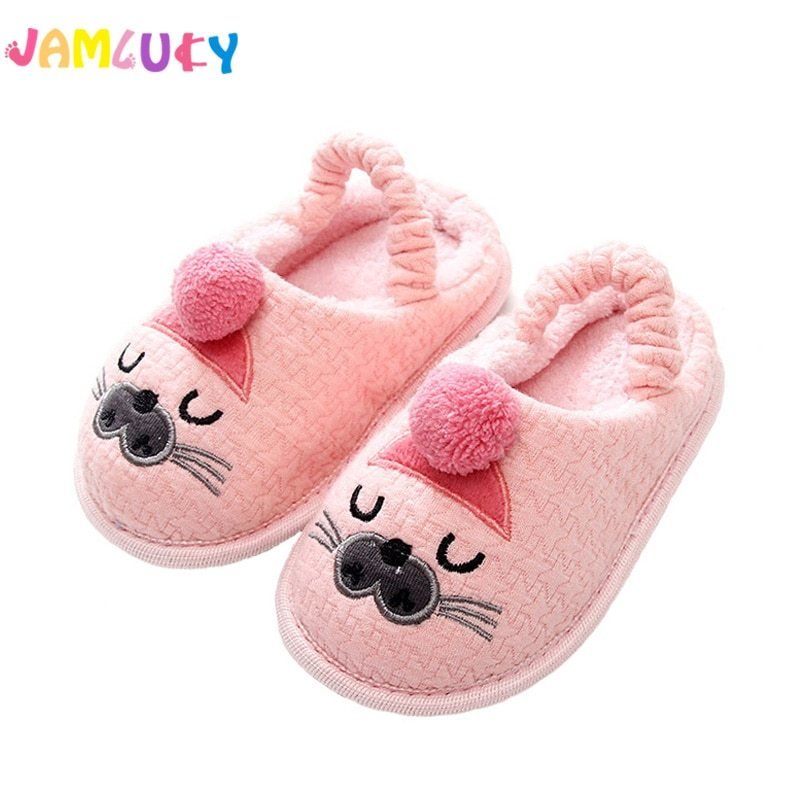 Best Kids Slippers Children Home Slippers Girls Cotton Cartoon With Pictures