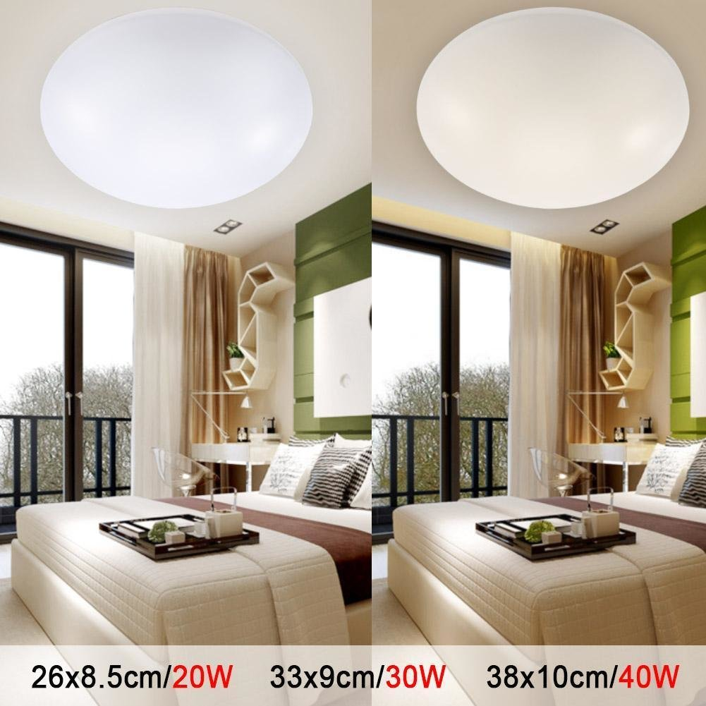 Best Led Ceiling Lights Dia 260Mm Acrylic Warm White Cool White With Pictures