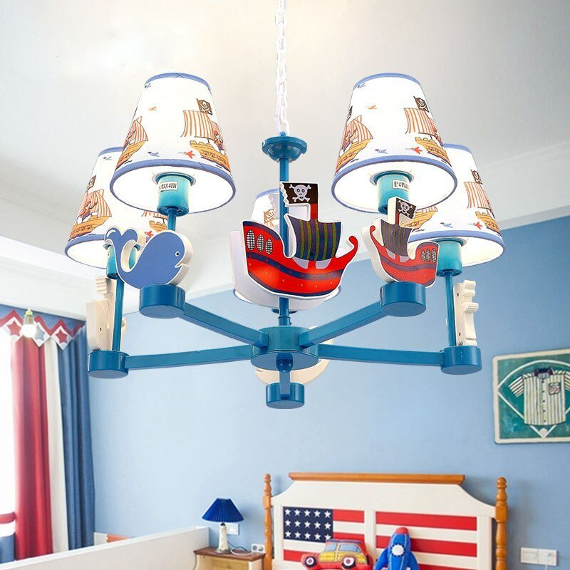 Best Children Boys Girls Bedrooms Pendant Light 5 Heads With Pictures