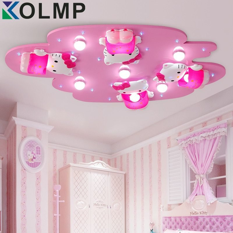 Best Aliexpress Com Buy Hello Kitty Lovely Girls Bedroom With Pictures