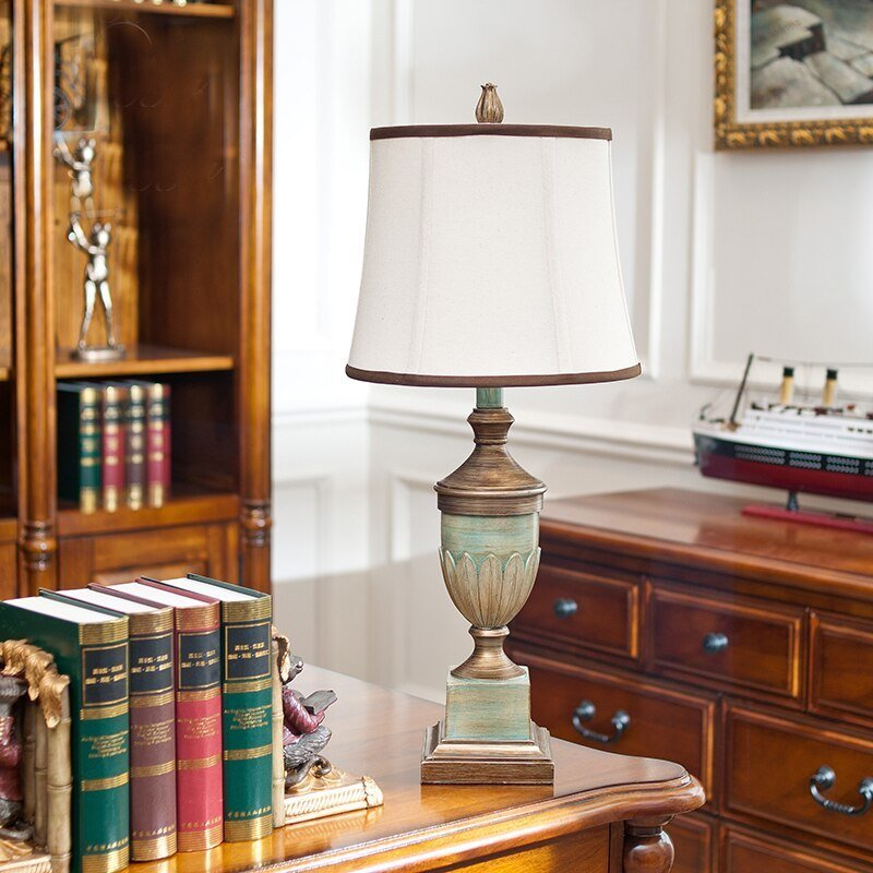 Best European Antique Bedroom Table Lamps Vintage Table Lamps With Pictures
