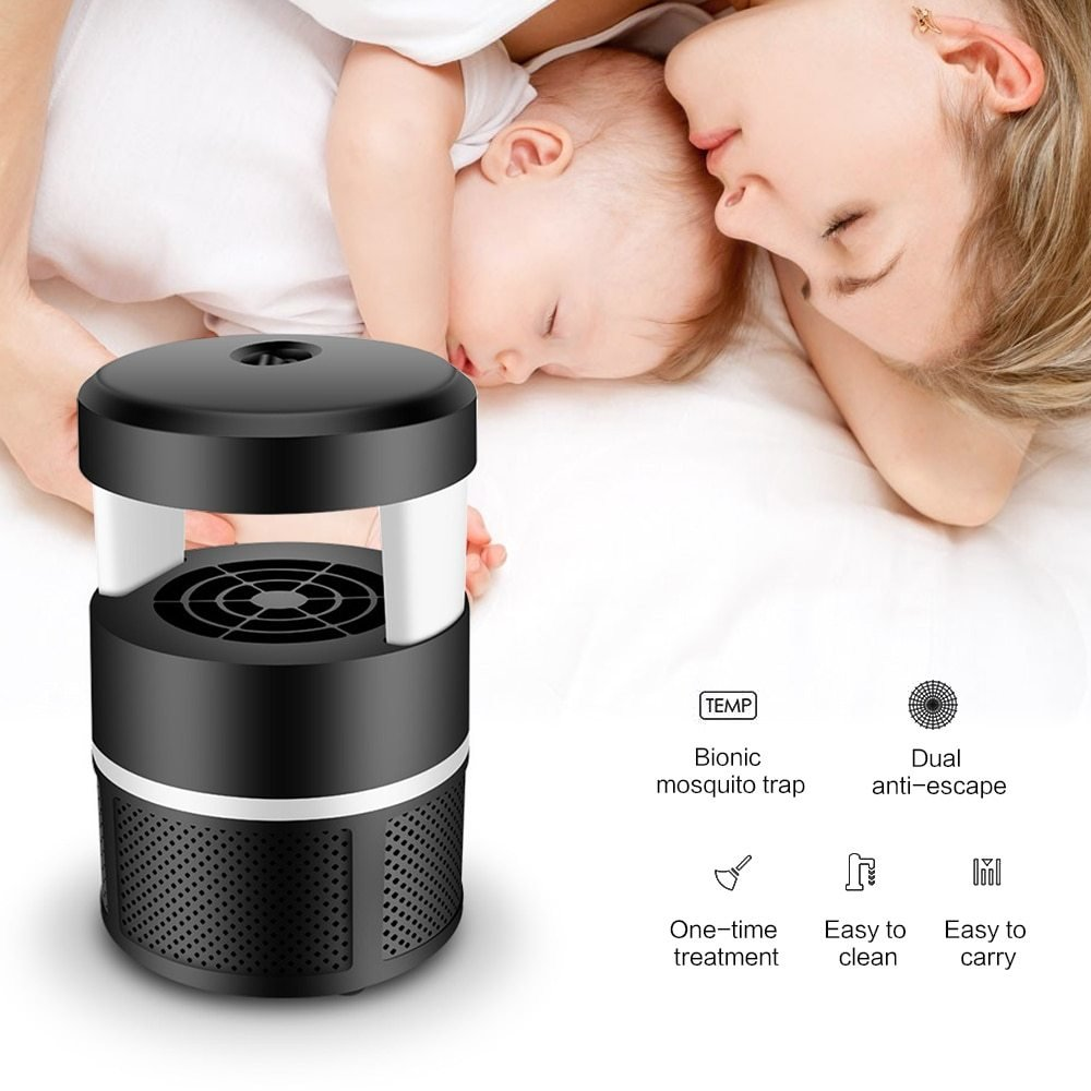 Best Aliexpress Com Buy Portable Electric Mosquito Killer Lamp Led Light Mosquito Trap Usb Mosquito With Pictures