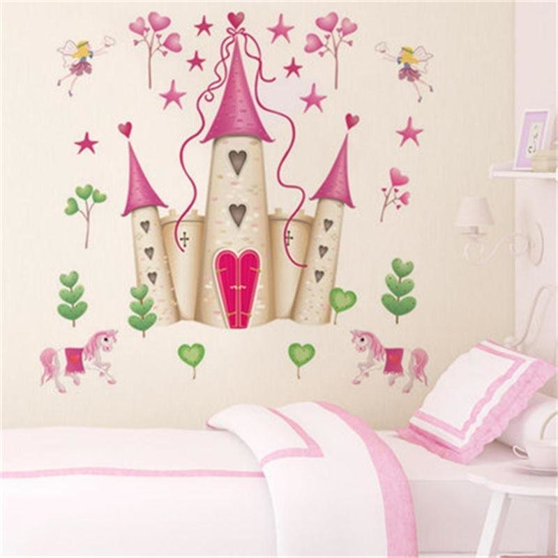 Best Removable Diy Princess Castle Star Fantasy Girls Bedroom With Pictures