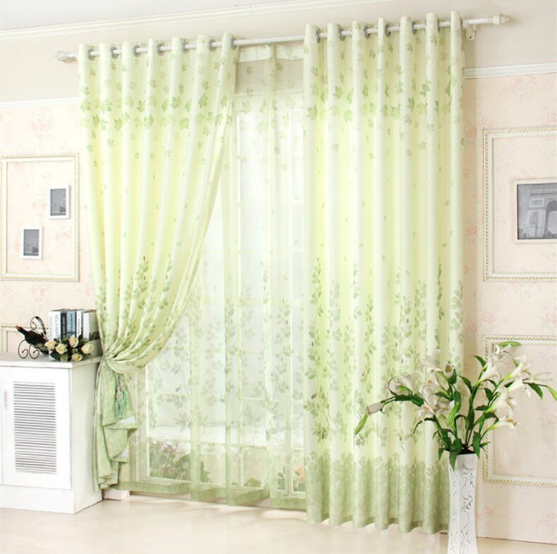 Best Green Bedroom Curtains Promotion Shop For Promotional With Pictures