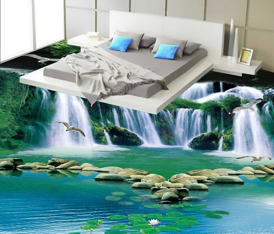Best Aliexpress Com Buy 3D Stereoscopic Wallpaper Floor 3D With Pictures