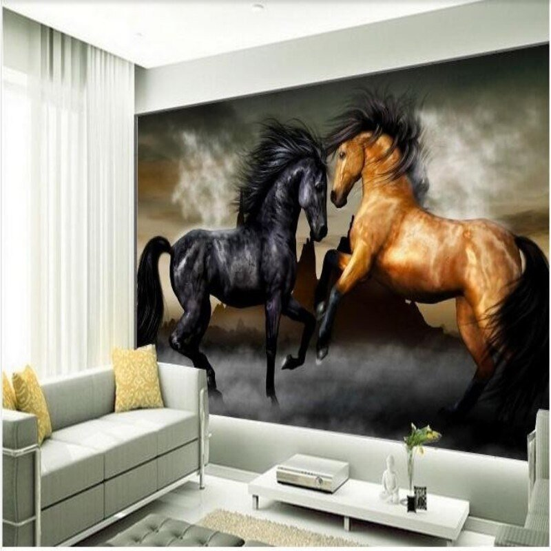 Best Popular Horse Wall Murals Buy Cheap Horse Wall Murals Lots With Pictures