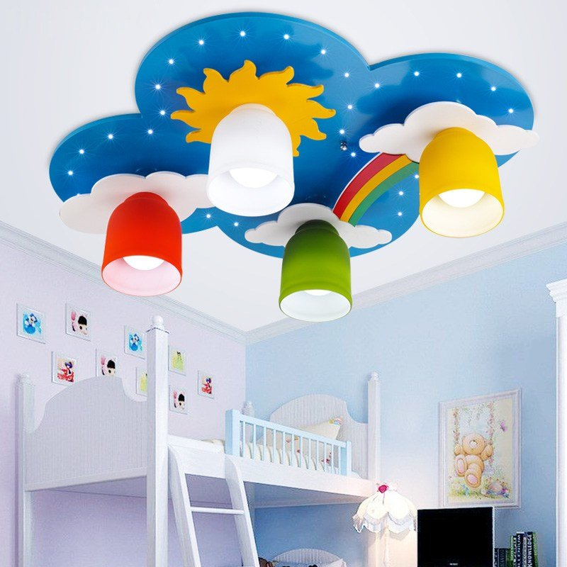 Best Surface Mounted Children Ceiling Lamps Kids Bedroom With Pictures