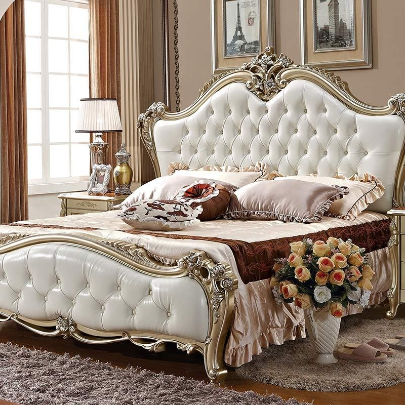 Best China Furniture In Pakistan Solid Queen Size Wood Bed Ivory White Bedroom Furniture In Bedroom With Pictures