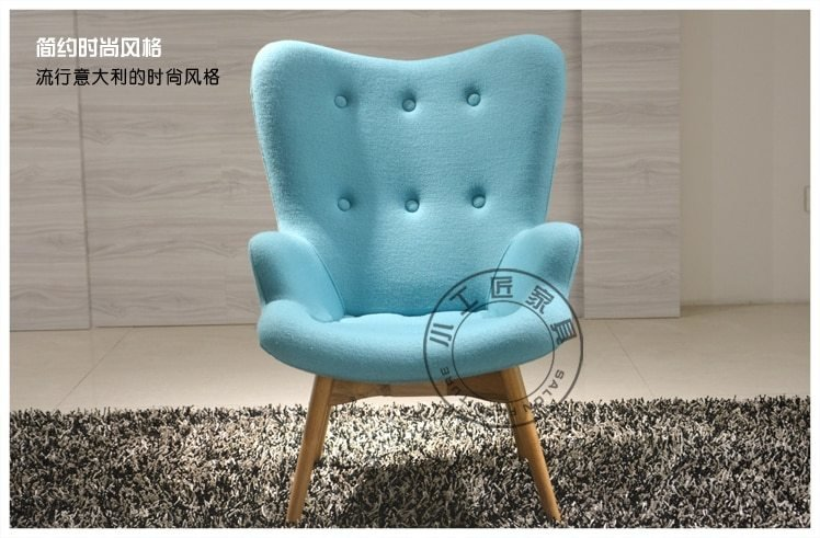 Best Small Artisan Furniture Fabric Sofa Chair Recliner Chair With Pictures