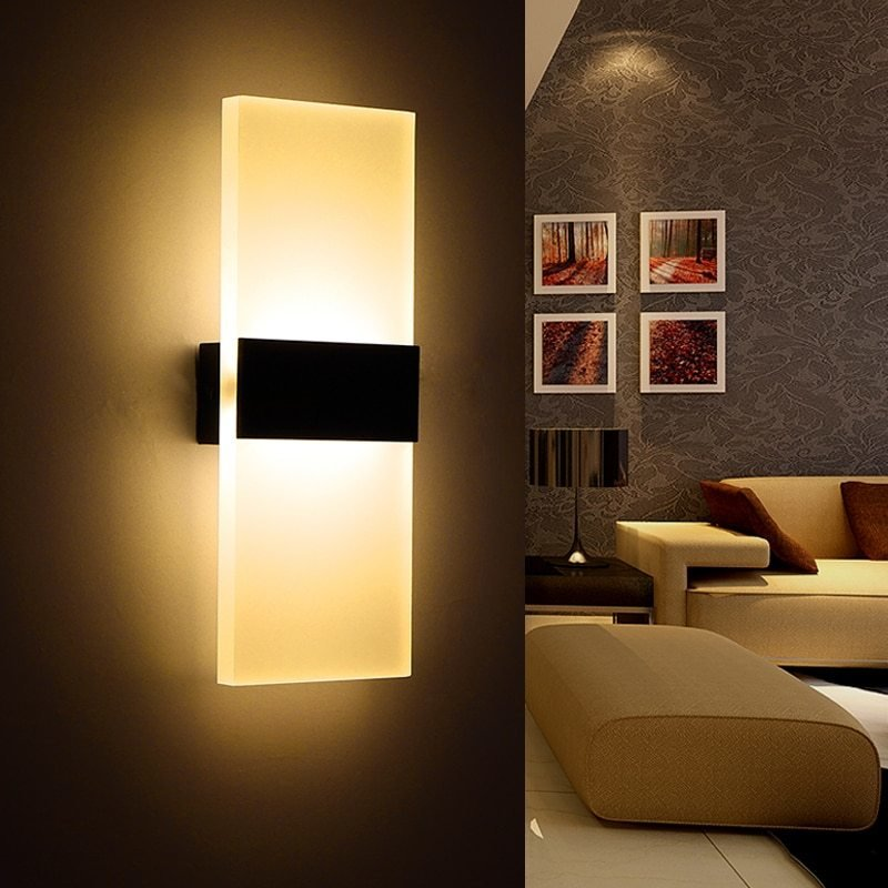 Best Aliexpress Com Buy Modern Bedroom Wall Lamps Abajur With Pictures