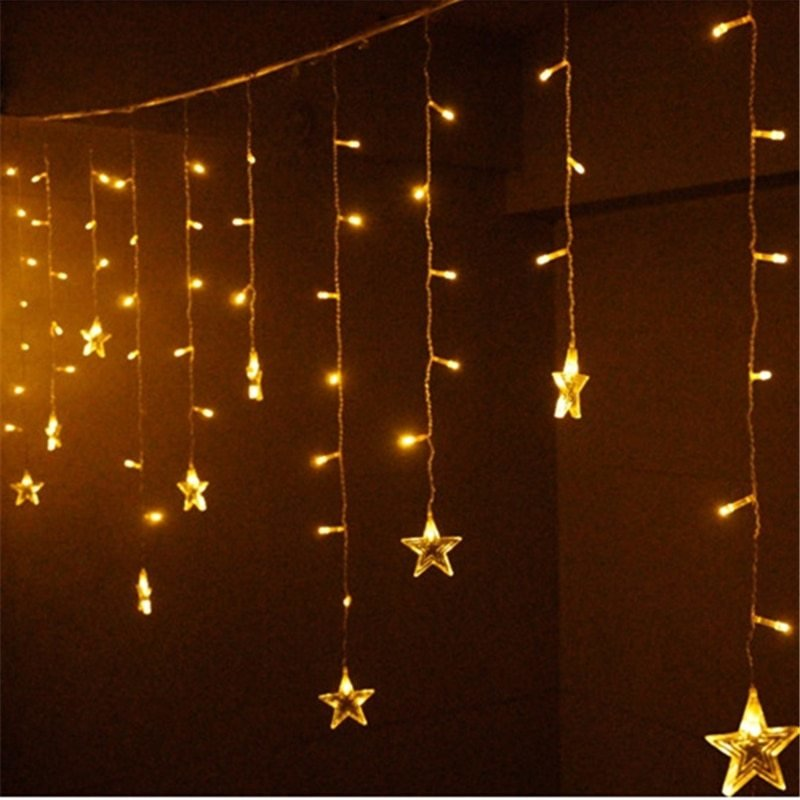 Best Aliexpress Com Buy Led Copper Wire String Lights Star With Pictures