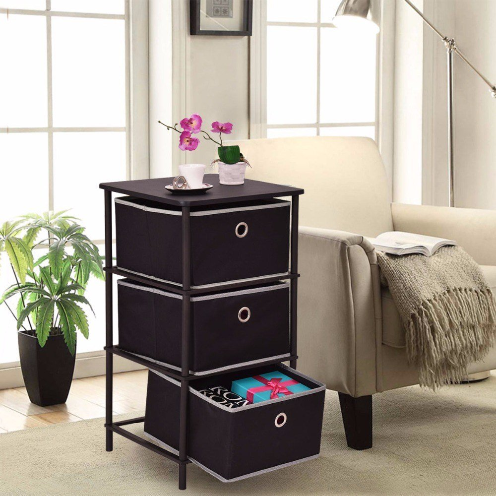Best Golplus Bedroom Furniture Nightstands End Side Sofa Table With Pictures