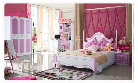 Best Kids Bedroom Furnitures Sets Bed Bedside Table Wardrobe With Pictures