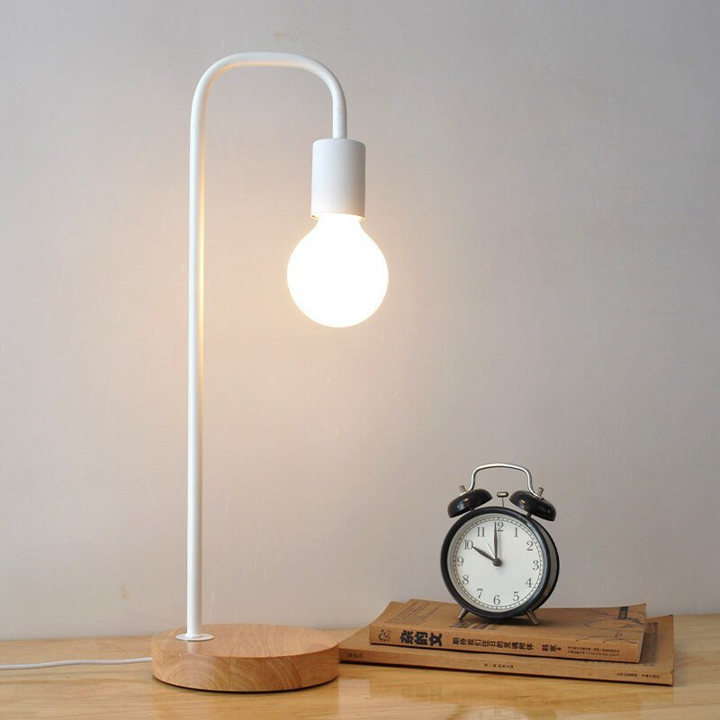 Best Metal Black Table Lamps Bedside Table Light Abajur Modern With Pictures