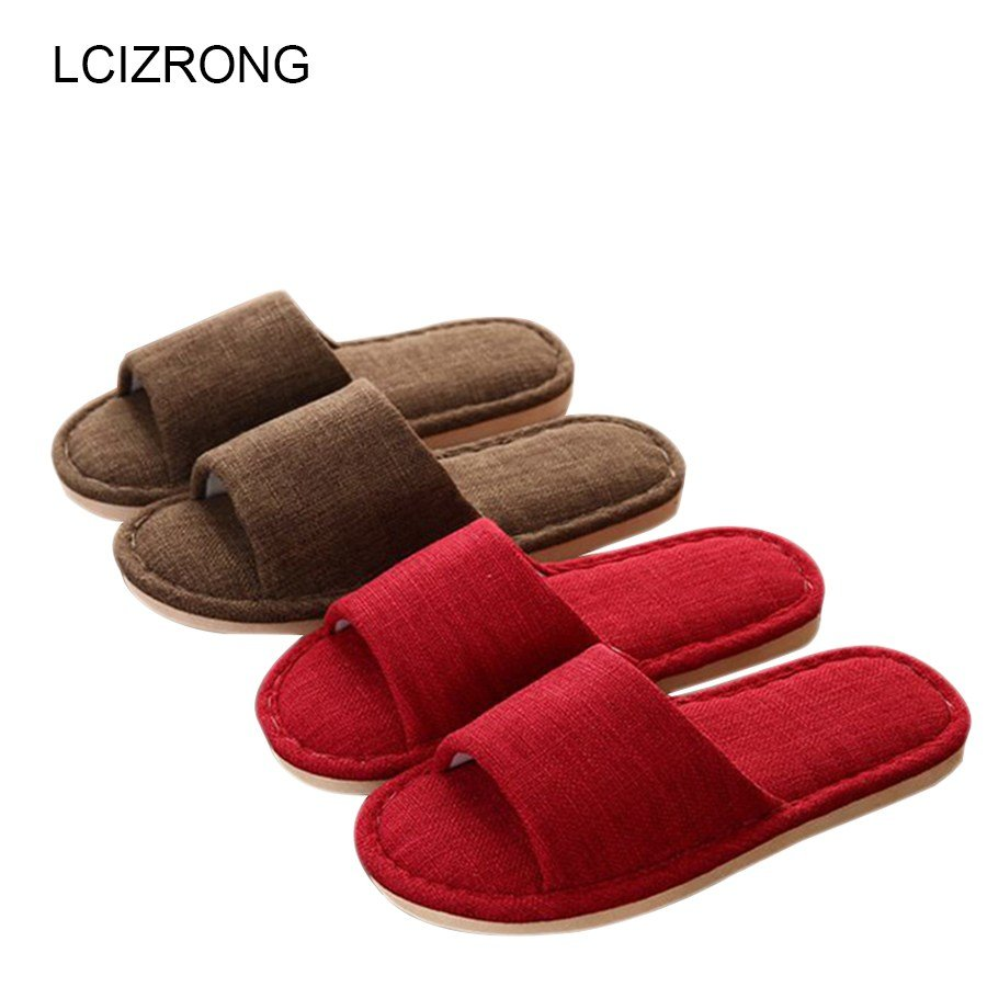 Best Aliexpress Com Buy Lcizrong Simple Soft Bedroom Slippers With Pictures