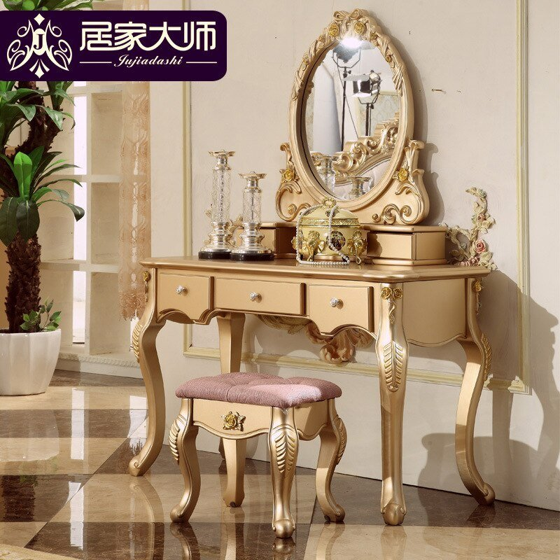 Best French Classical Bedroom Furniture Makeup Table Mirrors With Pictures