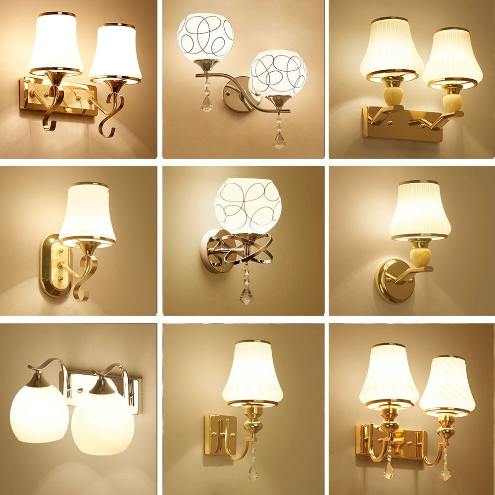 Best Hghomeart Glass Sconces Reading Lamps Wall Mounted 110V With Pictures