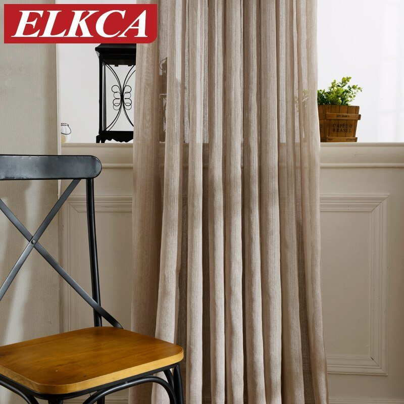 Best Hot Sale Japan Solid Tulle Curtains For Living Room Window With Pictures