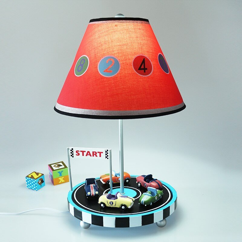 Best Children Car Table Lamp Mediterranean Bedroom Bedside Lamp With Pictures