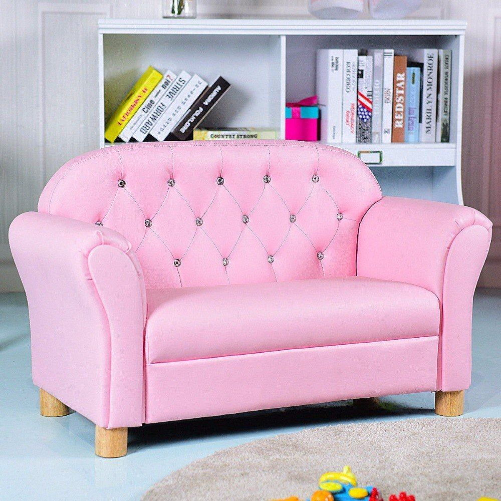 Best Giantex Kids Sofa Princess Armrest Chair Lounge Couch Loveseat Children Toddler Gift Modern With Pictures