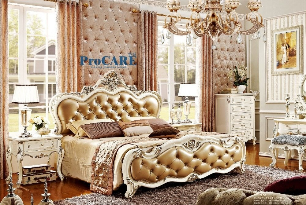 Best Popular Royal Bedroom Furniture Set Buy Cheap Royal With Pictures