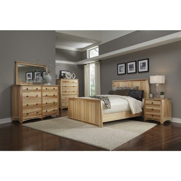 Best Shop Simply Solid Emilian Solid Wood 6 Piece Queen Bedroom With Pictures