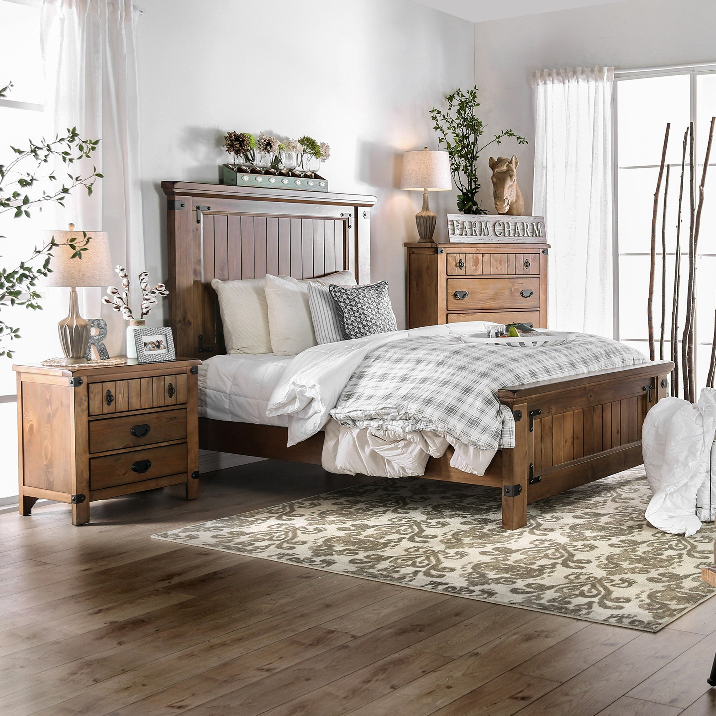 Best Shop Furniture Of America Sierren Country Style 3 Piece With Pictures