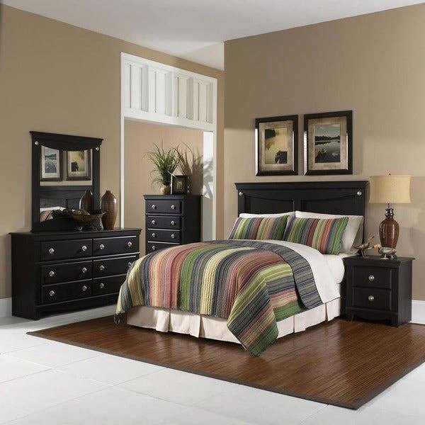 Best Shop Cambridge Southampton Brown Wood 5 Piece Bedroom With Pictures