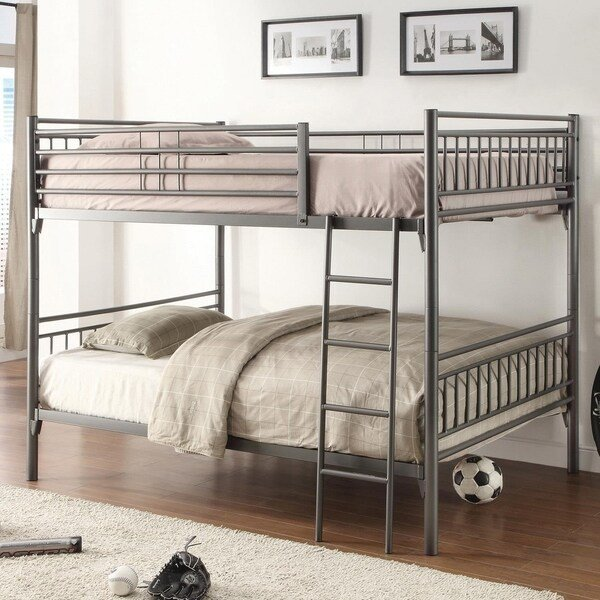 Best Shop Home Source Bedroom Furniture Bunk Bed Full Full With Pictures