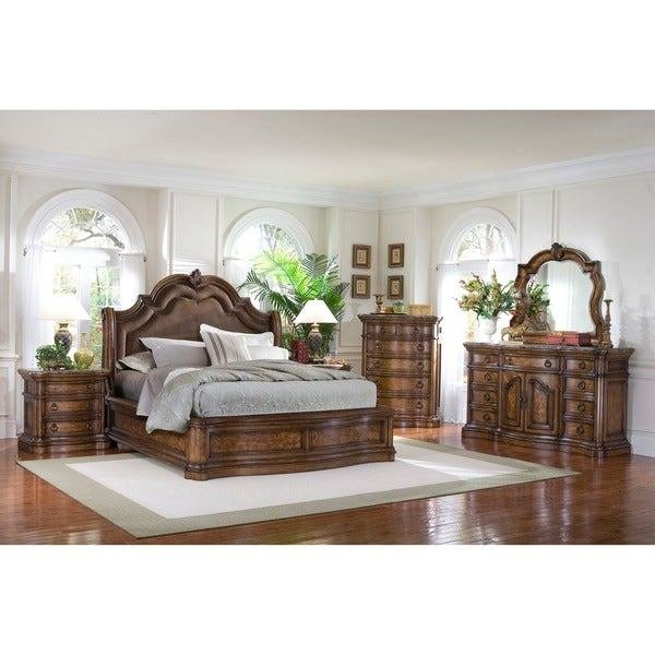 Best Shop Montana 6 Piece Platform King Size Bedroom Set On With Pictures