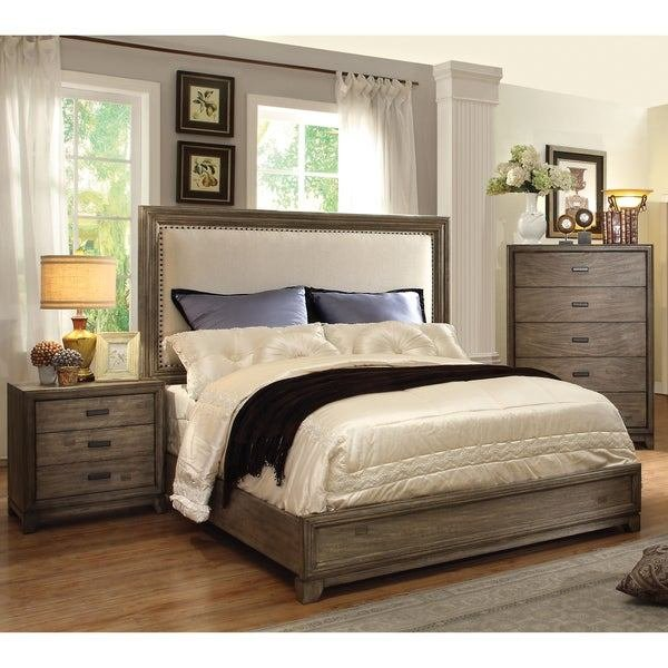Best Furniture Of America *R**N Rustic 3 Piece Natural Ash With Pictures