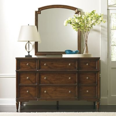 Best Stanley Furniture Vintage Bedroom Dresser In Brown Bed With Pictures