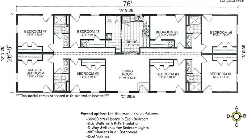 Best Bedroom Double Wide Mobile Home Floor Plans Manufactured With Pictures